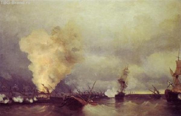Naval Encounter at Vyborg, 29th June 1790