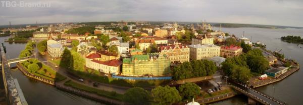 Вид с башни Св.Олафа