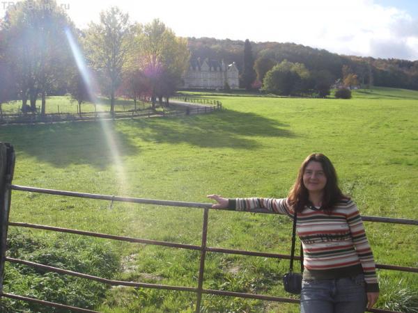 один из замков Нормандии
