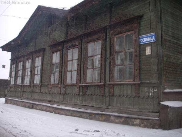 одна из гостиниц Иркутска. добро пожаловать!