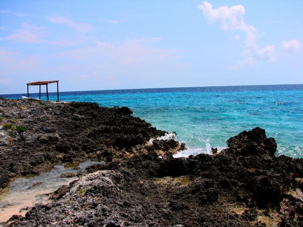 Карстовый берег Карибского моря