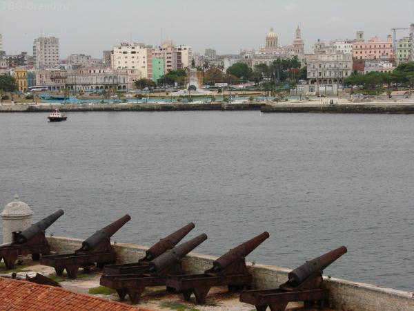 Вид на Гавану из крепости