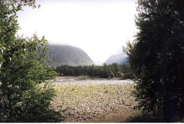 Вид на долину Чульчи