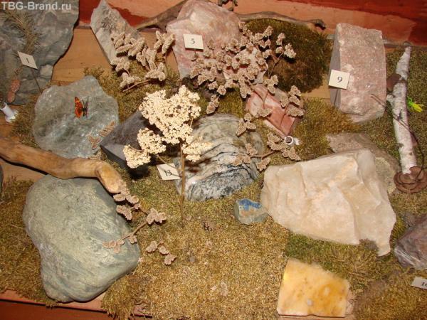 Местные поделочные камни