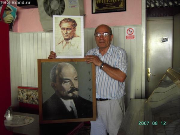 Умаг. Радослав Илич - первый секретарь Хорватской коммунистической партии.