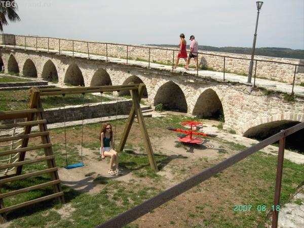 Внутренняя часть городской стены