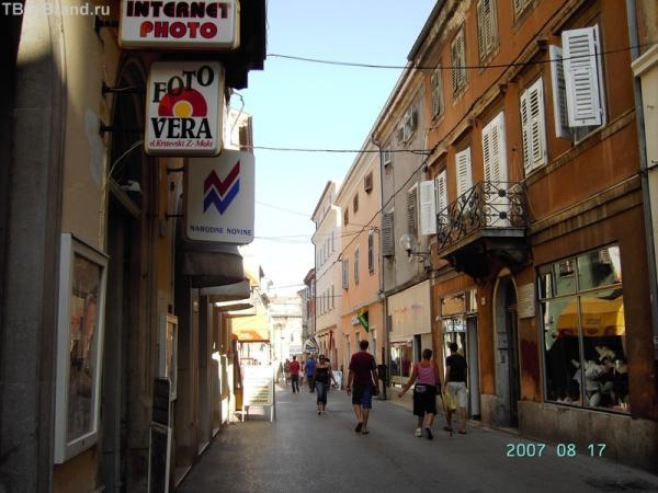 Пешеходная улочка от Арки к Форуму