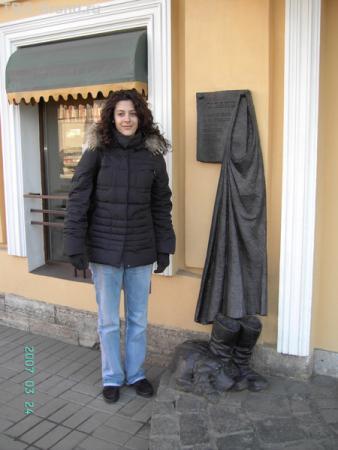 Памятник Муму