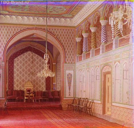 Летний дворец бухарского эмира