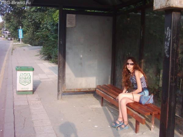 автобусная остановка в Варне