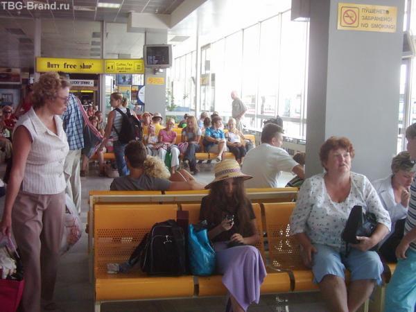аэропорт в Варне - улетаем...