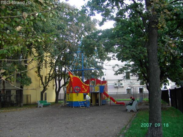 Детская площадка - фас