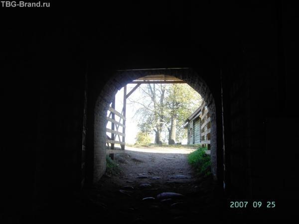 внутренние ворота крепости