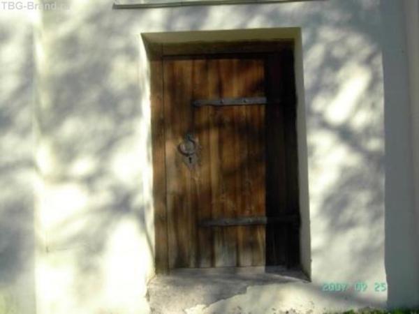 Дверь в церковь Св. Георгия