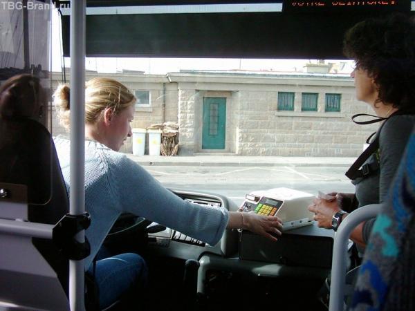 Автобус в Сен-Мишель