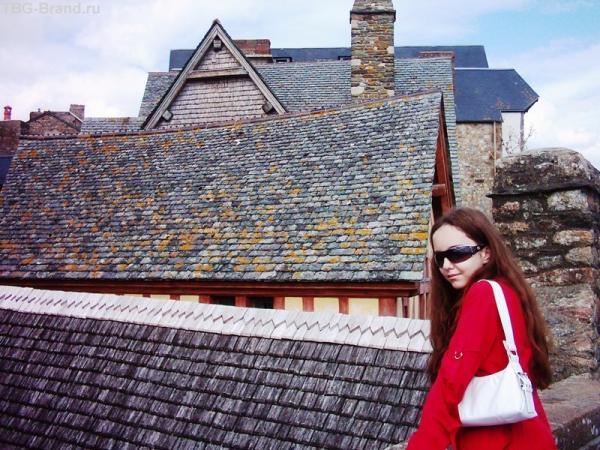 Крыши Сен-Мишеля. Обожаю черепицу.
