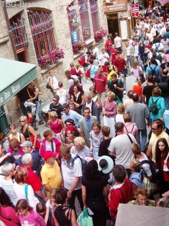 Толпы на улицах