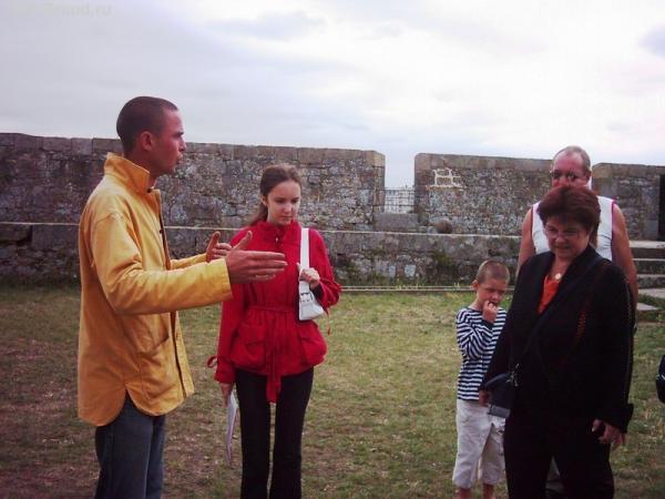 Экскурсия по форту