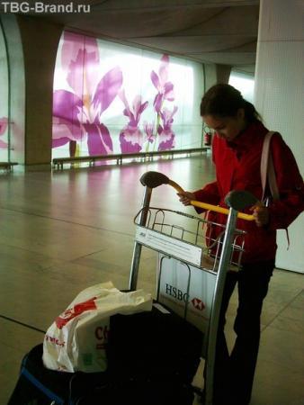 Бесплатные тележки для провоза багажа по аэропорту Руасси