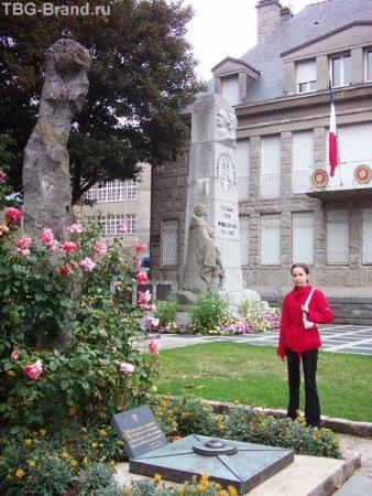 Военный памятник в Сен-Мало