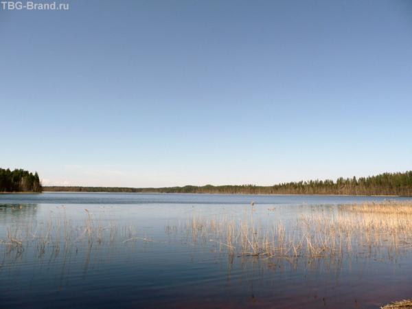 Наше финское Голубое  озеро