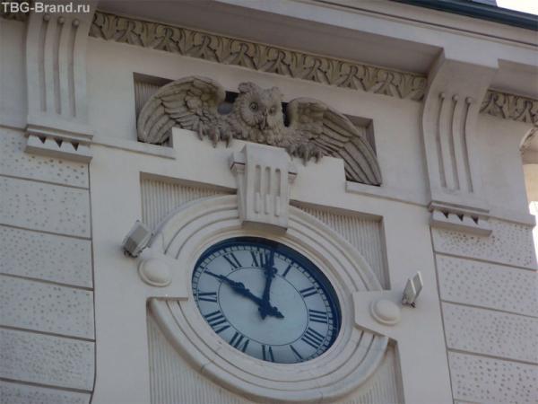 с совами над часами :)