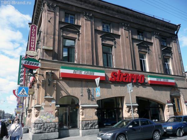 Лавки Алферова со стороны Банковского переулка