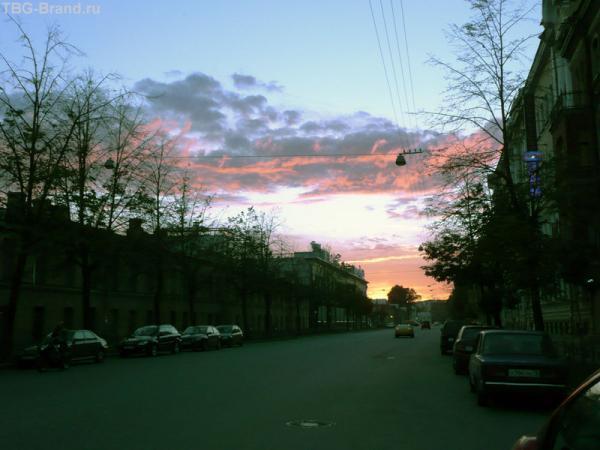 Белая ночь на Звенигородской
