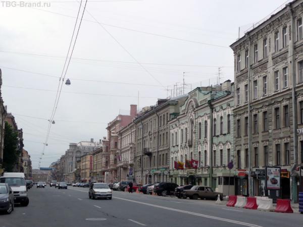 ул. Марата - справа дом № 9 - дом Шостаковича
