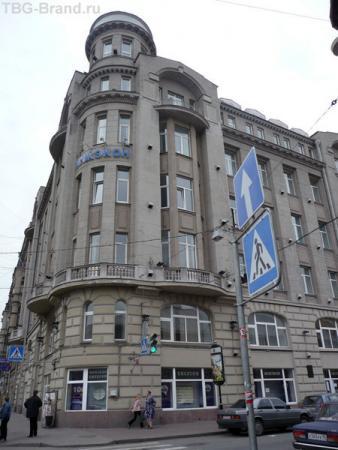 дом № 27 - дом М. А. Лохвицкой-Скалон; 1912—1914, арх. Н. М. Проскурин, Л. И. Катонин.