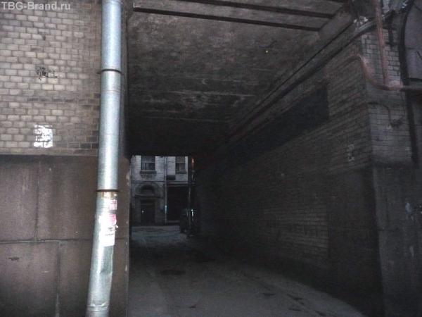 арка во второй двор