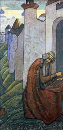 часть фриза Рериха