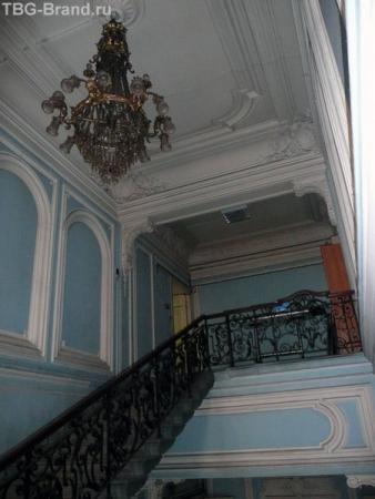 Переделанная люстра и третий - детский - этаж