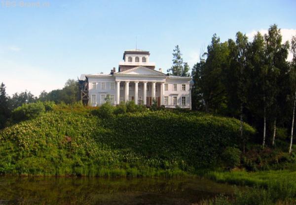 Восстановленный дом в Рождествено.