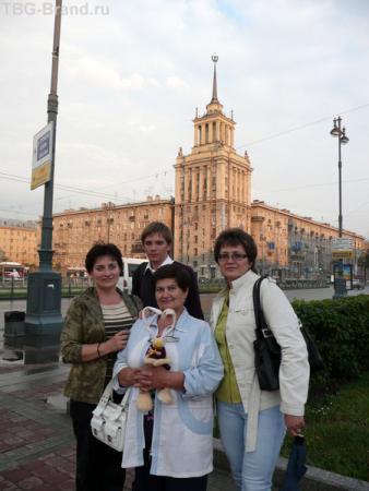 Дом-башня на Московском проспекте