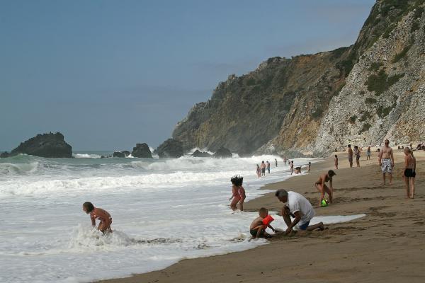Пляжный момент