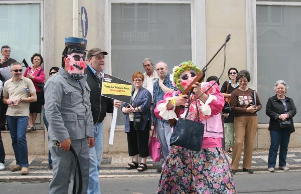 Праздник иберийской маски.Персонажи из Могадоуру-Португалия