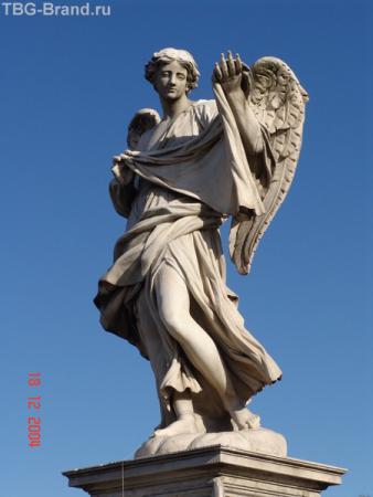 Скульптура на мосту СантАнджело