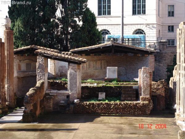 Раскопки на Корсо Витторио Эмануэле 2
