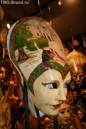 Лучшие образцы венецианских масок.