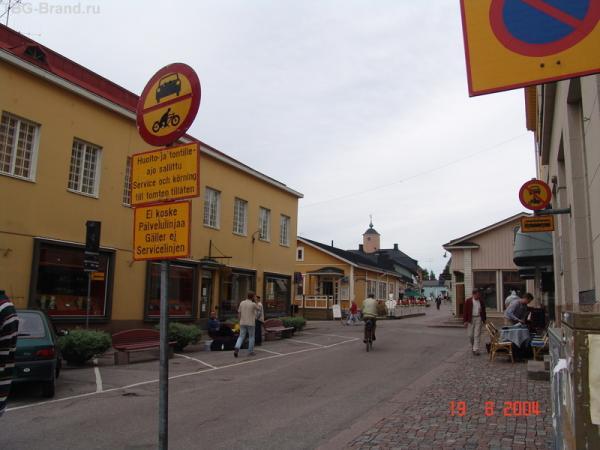 Прибрежно - придорожный городок с труднопроизносимым названием...