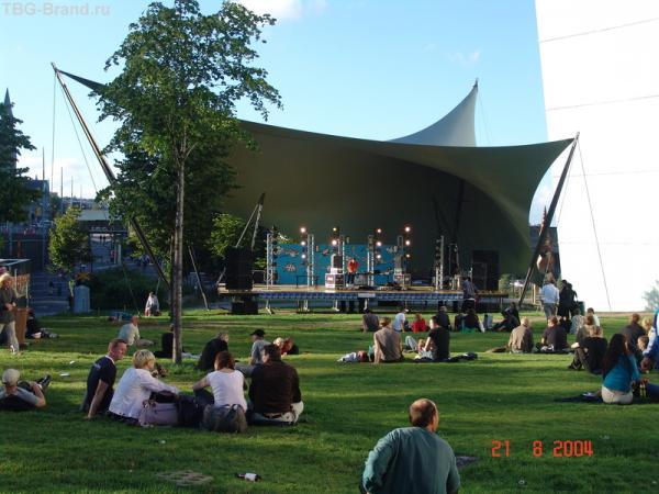 Открытый музыкальный фестиваль