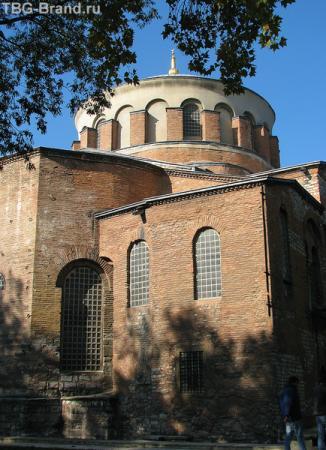 Церковь Святой Ирины. Топкапы, 1 - й двор.