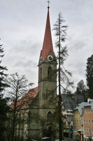Кирха 17 века.