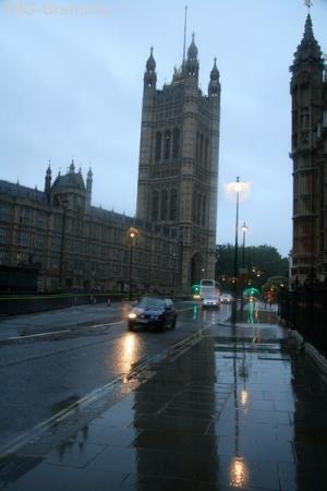 Парламент. Задний двор.