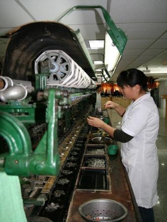 Шелковая фабрика