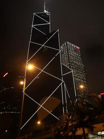 Ночной Гонконг поражает
