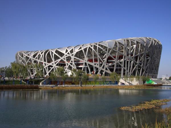 """И снова Пекин. Стадион """"Гнездо"""""""