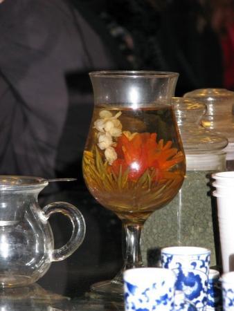 На чайной церемонии
