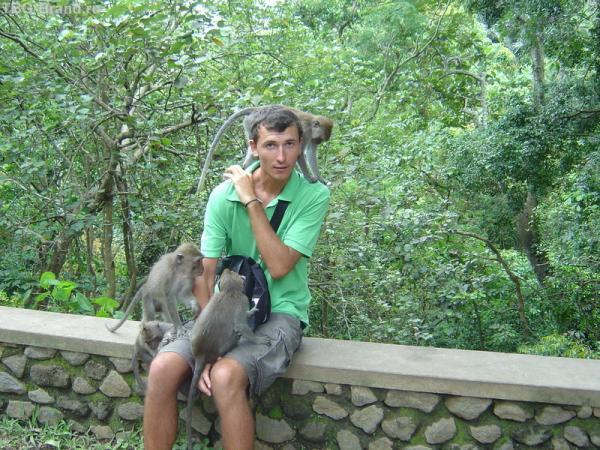 с дружбанами на Бали